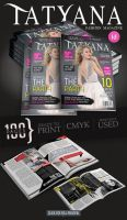 Tatyana mag - 100 Pages Fashion Magazine - Issue 1 by RadomirGeorgiev
