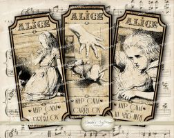Alice-in-Wonderland-Apothecary-Vintage-Labels- by mimikascraftroom
