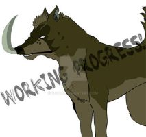 Kurojaki - Workin Progress! by BeccAi