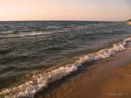 Lake Michigan Shoreline by Foozma73