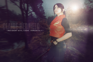 Resident Evil Code: Veronica X cosplay by Vicky-Redfield