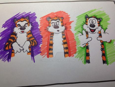 Hobbes by anacal