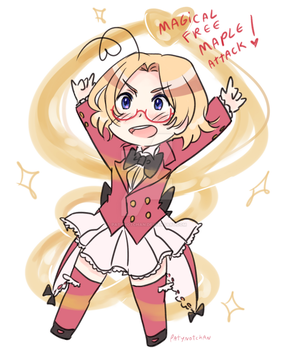 APH Magical Canada by Patynotchan