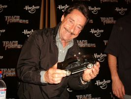 Peter Cullen with KARR by copperarabian