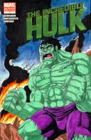 Incredible Hulk Cover Front by SeanRM