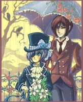 Black Butler by FragileWhispers