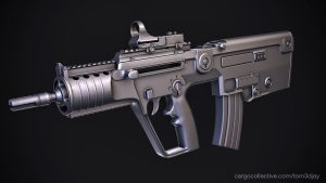 IWI X95 Micro Tavor by Tom3dJay