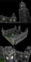 Gothic exterior by JamesMargerum