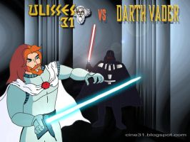 ULYSSES 31 VS DARTH VADER by prometheus31