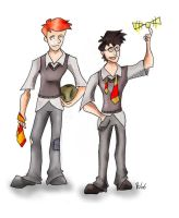 The Quidditch Kings by Teensy