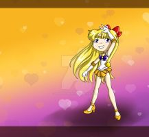 Sailor Venus Chibi by thedustyphoenix