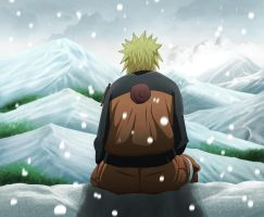 naruto in the snow by BMPM