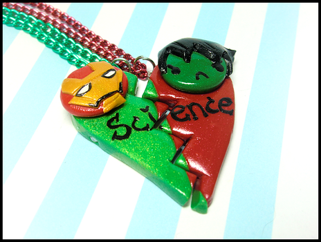 Science BFF Necklace by GrandmaThunderpants