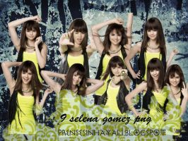 Selena gomez png pack by WildAvril