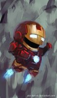 lil' Iron man by ales-kotnik