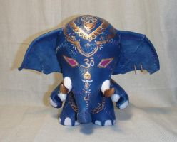 Raj - Stitched Elephant by mesmithy