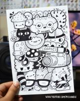 Full page marker doodle by PicCandle