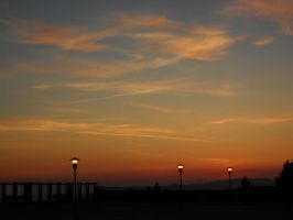 Supplimentary sunset by Norsehound