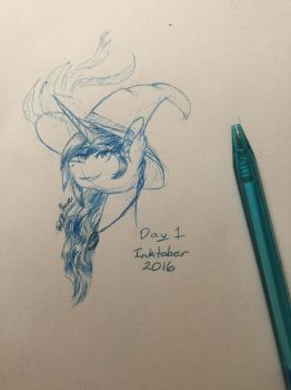 Inktober 2016 - Day 1 by FairyRave