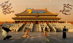 the Forbidden City by lemon01414