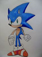 Sonic The Hedgehog 2012 by DarkGamer2011