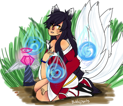 Even More Ahri Wow by Buddypants