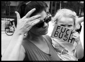 Fuck Bush by digitalgrace