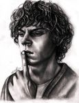 Evan Peters by Bluecknight