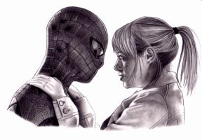 Spiderman and Gwen Stacy by kad84