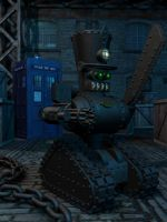 Steambot Guard by JamesMargerum