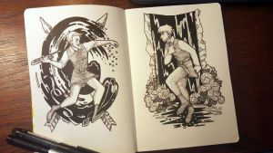 Arlen and Colm in Ink by Deisi
