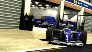 Williams F1 '94 Damon Hill by razor-rebus