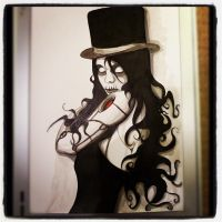 .:Machine.Head.Girl x Baron Samedi:. by teflonmonkey
