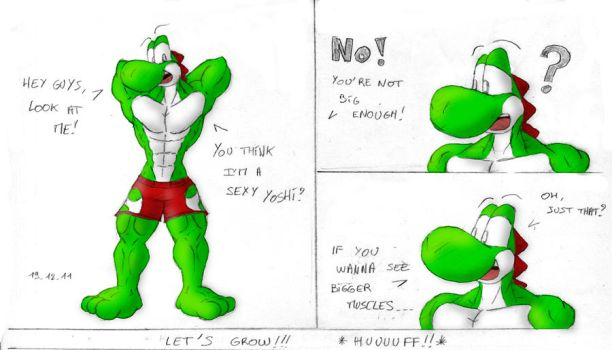 Sexy Yoshi - Part 1 of 3 by McTaylis