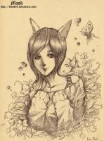 Fox girl by bmad95