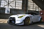 Nissan GT-R at Evolution by BLOX by Freebro