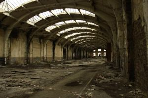 A hangar from the past by RUYK