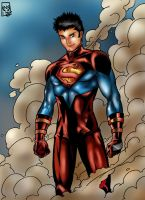 SUPERBOY by windriderx23 by d1unv
