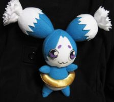 Tales of the Abyss: Mieu plush by Malindachan