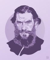 Leo Tolstoy by monsteroftheid