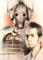 dr who sketch by peppers08