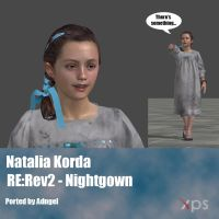 Natalia Korda RE:Rev2 Nightgown. by Adngel
