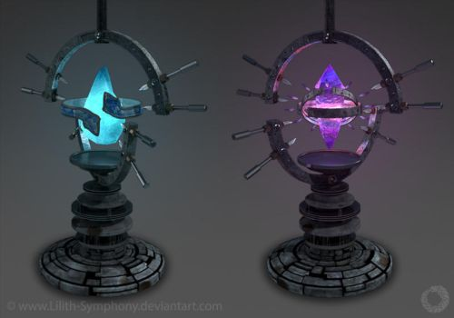 Crystal's Machines Creation and Time by Lilith-Symphony