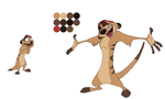 Timon Reference by BrainyxBat
