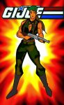 GI Joe Falcon Super Buff female version by RWhitney75