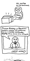 meanwhile in korea.. by yamumil