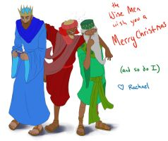 The Three Wise Men by thewavertree