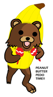 Peanut Butter PEDO time. by nitrobandicoot