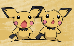 Pichu Brothers BG by abiogenic