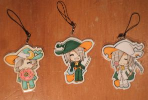 Lemres Keychains by cafe-delight